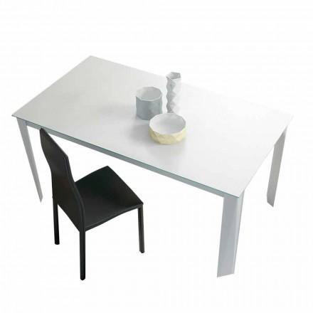 Utdragbart matbord Upp till 250 cm i Mattglas Tillverkat i Italien - Namibia