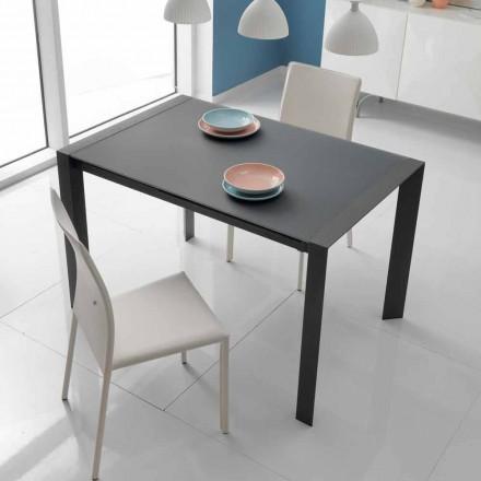 matbord glas bord och metall Oddo