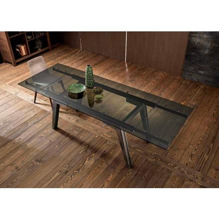 Utdragbart matbord i fumèglas gjord i Italien, Dimitri
