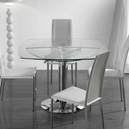 utdragbara matbord i härdat glas Wave
