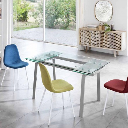 samtida glas matbord utdrag, W140 / D80 cm 200x, Nardo