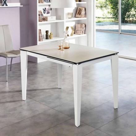 Dining glaskeram Förlänga tabell, 120 / cm 170xP80, Bino