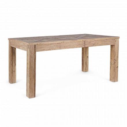 Homemotion matbord med topp och ben i Elm Wood - Elm