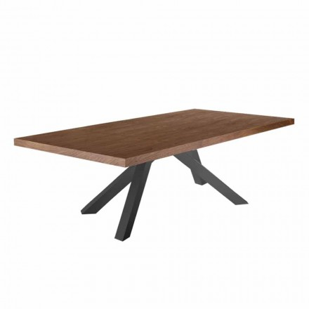 Matbord med fanerad träplatta Tillverkad i Italien - Settimmio