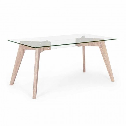 Homemotion modern design matbord med glasplatta - Piovra