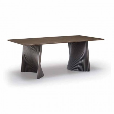 Matbord av hög kvalitet i Gres och Ash tillverkad i Italien - Charol