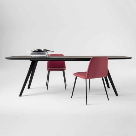 Kvalitets matbord med ask i övre tillverkat i Italien - Ulma
