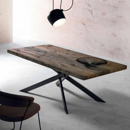 Modernt massivt matbord gjord i Italien Oncino