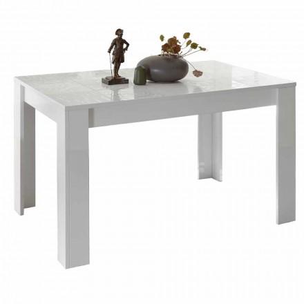 Matbord i melamin utdragbart upp till 185 cm Tillverkat i Italien - Aneta
