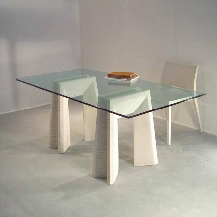 sten matbord och modern design crystal Arianna