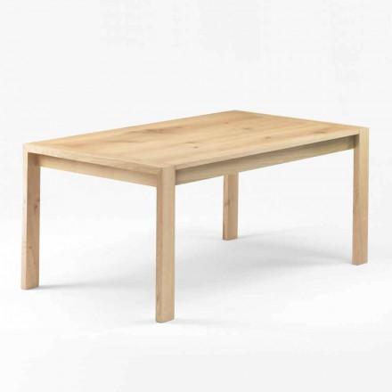 Modernt matbord i massivt ek tillverkat i Italien - Willow