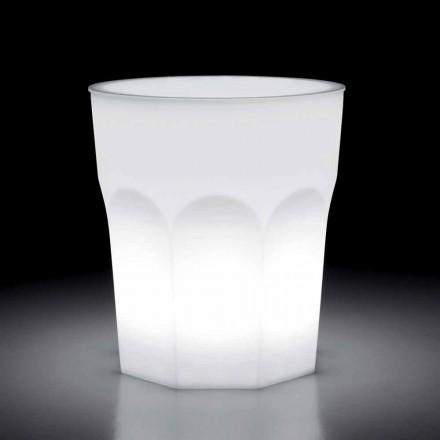 Utomhusdesign Ljusbord i polyeten och Hpl Tillverkad i Italien - Pucca