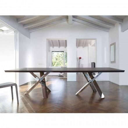 Modernt design träbord 270x120cm tillverkat i Italien Tree