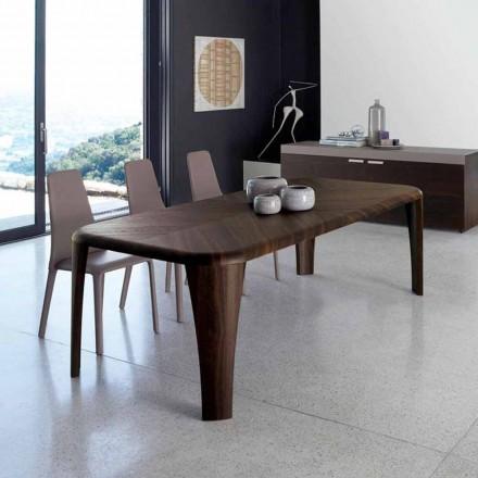 Modernt design träbord handgjorda i Italien Wood