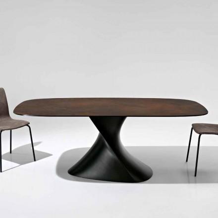 Modernt designbord i glaskeramik tillverkat i Italien, Clark