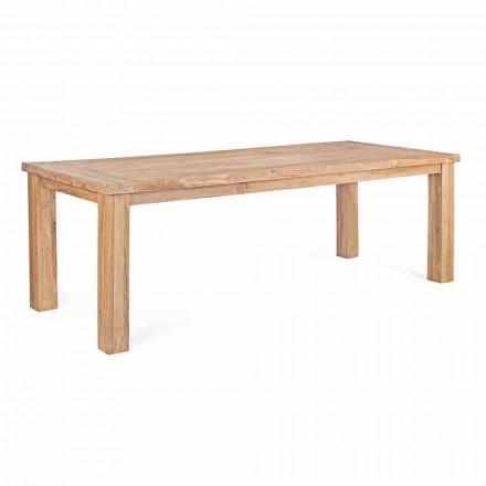 Trädgårdsbord i designteak trä, 8 platser Homemotion - Hunter