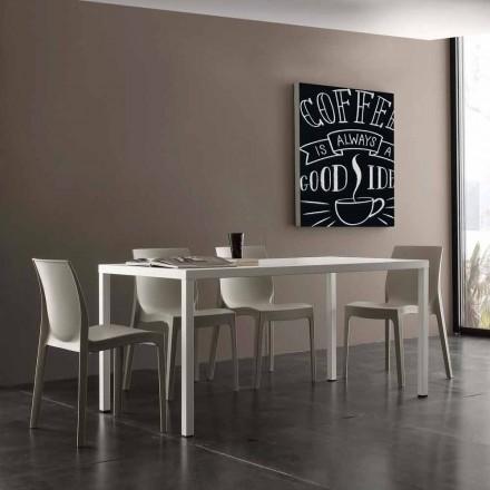 Stål bord i katafores för interiör och exteriör Ohio