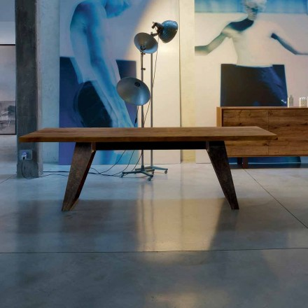 träbord naturlig solid al modern design, Antonio