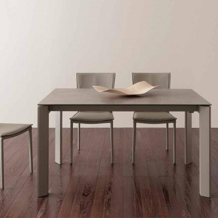 Terni utdragbart glaskeramiskt bord upp till 240 cm