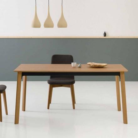 Modernt utdragbart matbord, tillverkat i Italien - Sellia