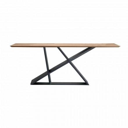 Utdragbart matbord Upp till 294 cm i trä, tillverkat i Italien Kvalitet - Cirio
