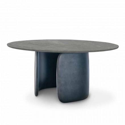 Matbord i keramik med polyuretanbas Tillverkad i Italien - Mellow Bonaldo