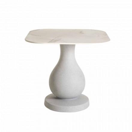 Fyrkantigt matbord, yta i HPL - Ottocento