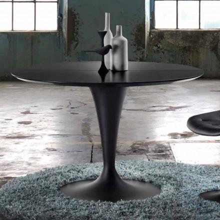 Rundt utdragbart bord för modern design - Borgia