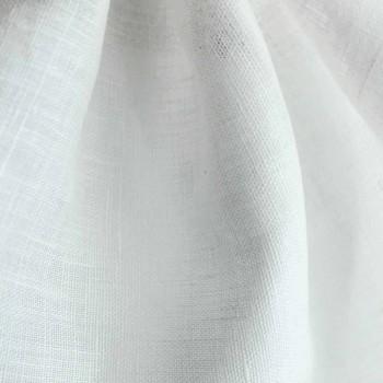 Badhandduk i ren kräm eller naturligt vitt linne tillverkat i Italien - välsignat