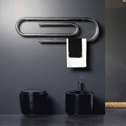 Termoarredo elektriska klammer design med kromad yta Scirocco H