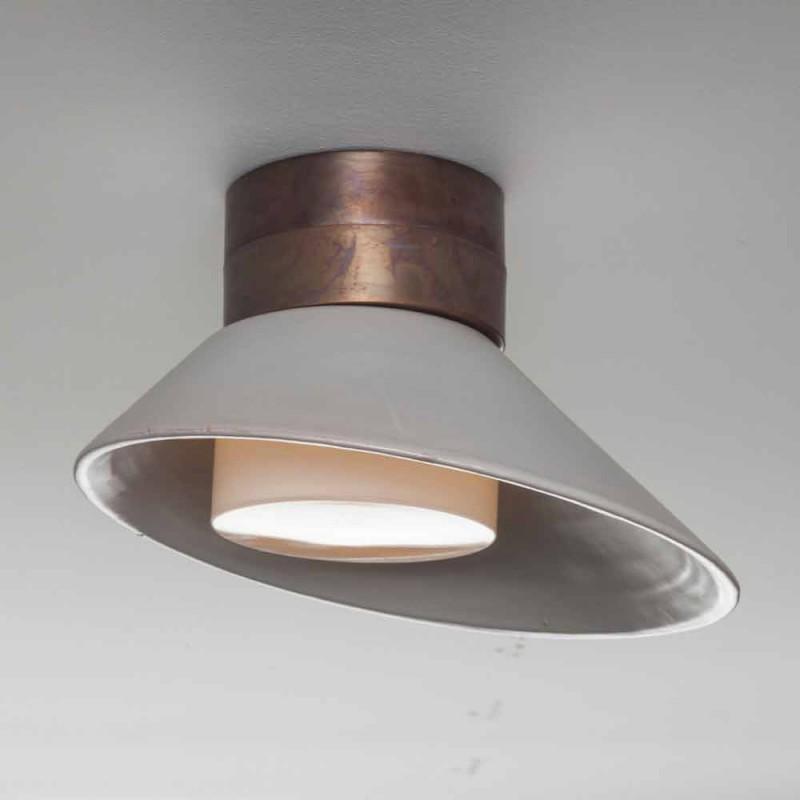! Lamp TOSCOT Chapeau vägg / tak gjort i Toscana