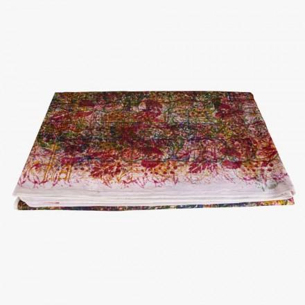 Handgjord bomullsduk Handgjord tryck unik bit - Viadurini av Marchi