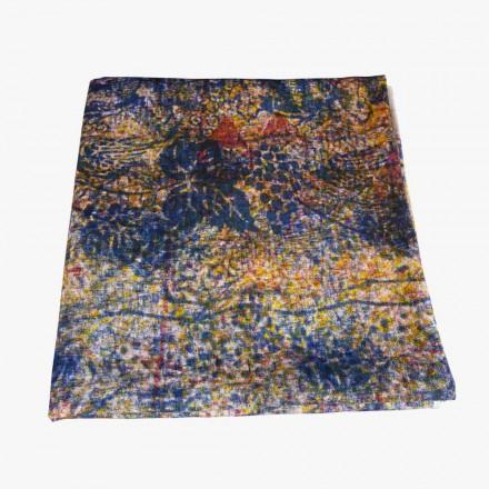 Högkvalitativ handgjord bordduk med handbomull tryckt