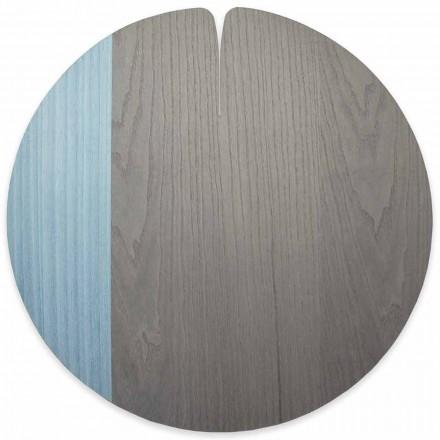 Modern amerikansk stil Real Wood Placemat Tillverkad i Italien, 4 stycken - Stan