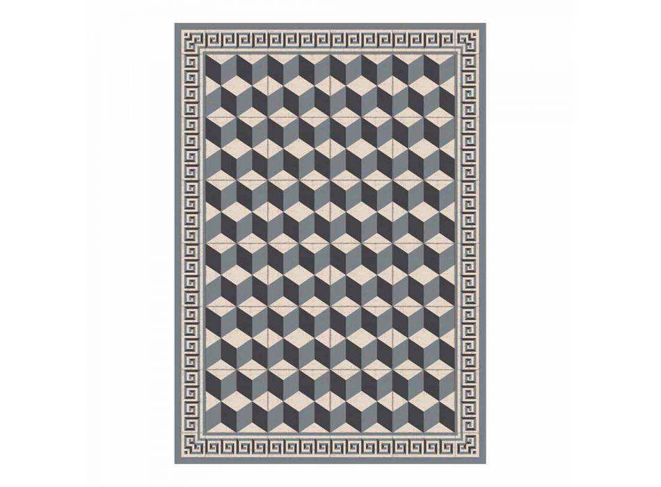 Amerikansk designplacemat i PVC och polyester, 6 delar - Romio