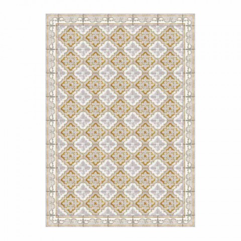 Amerikansk placemat i Pvc och modern färgad polyester, 6 delar - Dorado