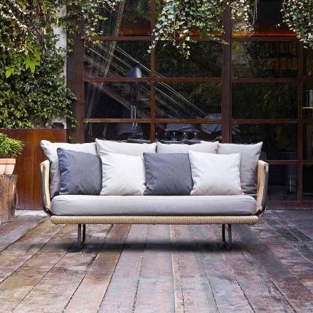 Varaschin Babylon 2-sits soffa med modern design