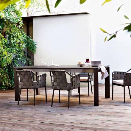 Varaschin Dolmen trädgårdsbordet utdrag upp till 380 cm