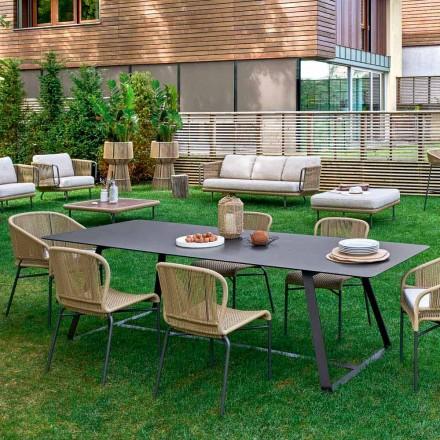 Varaschin Kolonaki Table modern trädgård i olika storlekar
