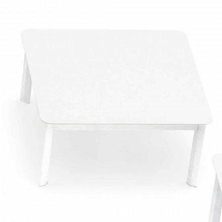 Varaschin System design utomhus soffbord i målade aluminium