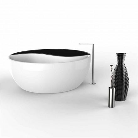 Badkar Inredning iSolid Surface Bath Tao Made in Italy