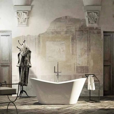 Fristående badkar i modern design produceras 100% i Ragusa Italien