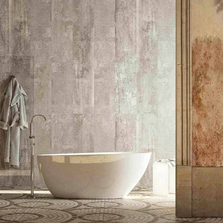 Oval fristående badkar i modern design producerad i Italien Albenga