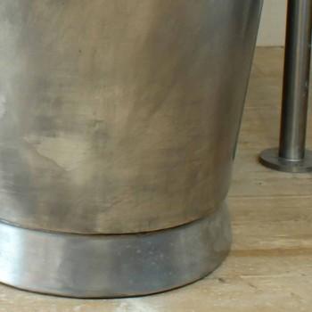 Badkar fristående kopparbadet färdigt i nickel Julia