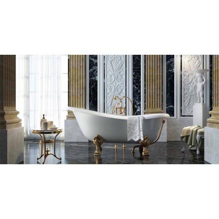 Fristående badkar i klassisk design tillverkade 100% i Italien, Fregona