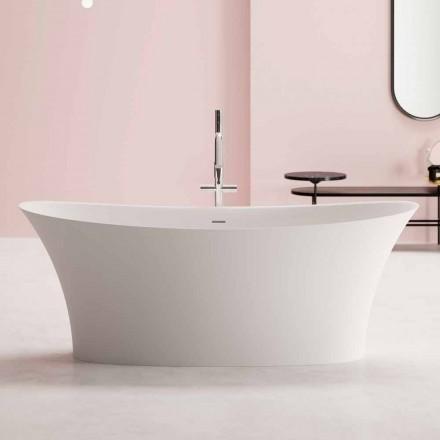 Frittstående Design Tub, Solid Surface Design - Look