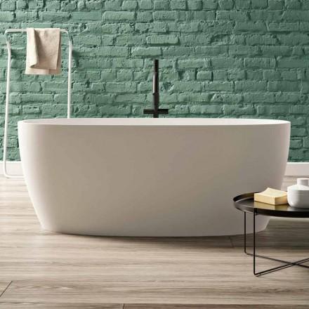 Frittstående badkar, Design i fast yta Glänsande / Matt - Velo