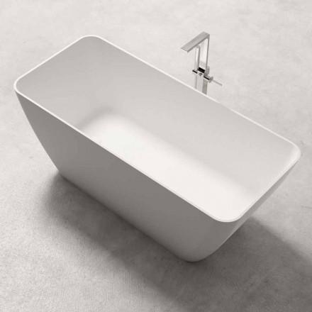 Modern Design Frittstående Badkar Glänsande eller Matt Vit - Ansikte