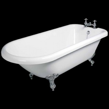 Bath konstruktion fristående vit akryl Sunset 1770x795 mm
