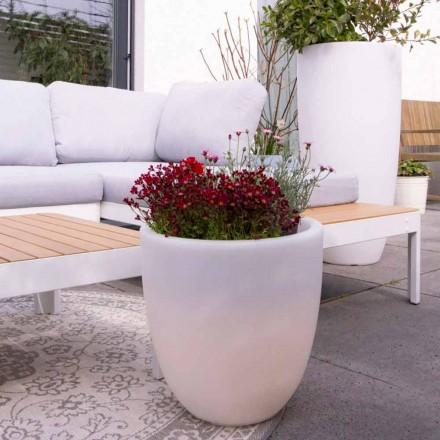 Design upplyst extern och intern vas i färgad polyeten - Svasostar